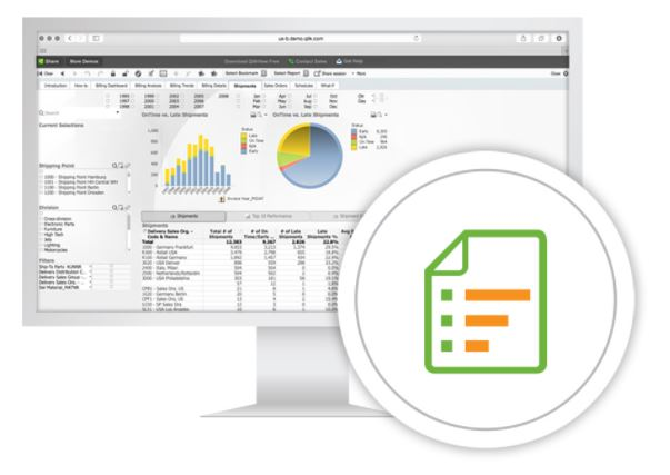 qlikview report generation