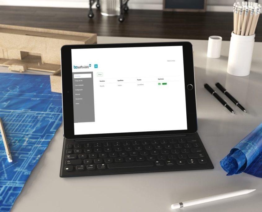 Sistema de control de jornada laboral para gestionar el equipo de trabajo
